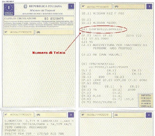 VIN (Vehicle Identification Number)