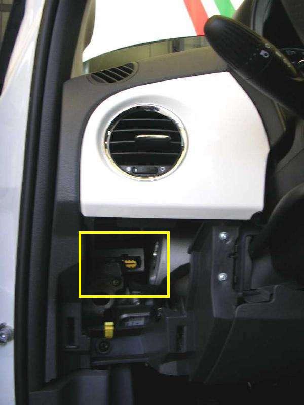 Localizzazione Telaio Presa Diagnosi Vin Fiat Panda 2012