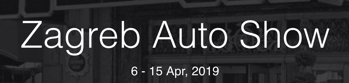 Zagabria Auto Show 2019