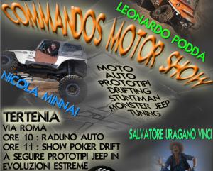 Commandos Motor Show Tertenia 2020